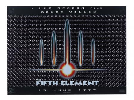 Lot #389 - THE FIFTH ELEMENT (1997) - Lenticular UK Quad, 1997