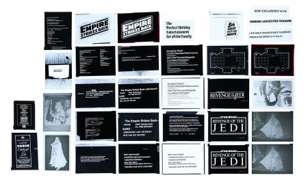 Lot #469 - STAR WARS: RETURN OF THE JEDI (1983), THE EMPIRE STRIKES BACK (1980) - FEREF ARCHIVE: Original Negatives