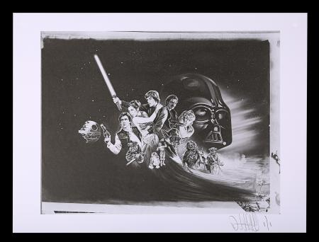 Lot #478 - STAR WARS: RETURN OF THE JEDI (1983) - FEREF ARCHIVE: Original Negative with 1 of 1 Proof Print, 2021