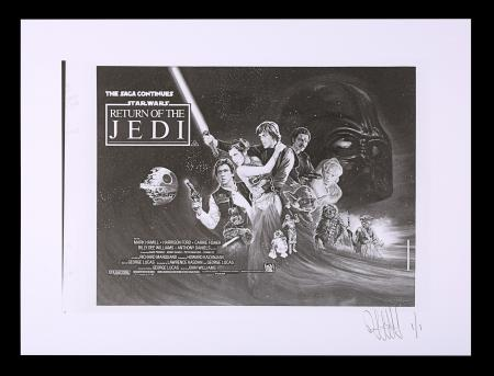Lot #480 - STAR WARS: RETURN OF THE JEDI (1983) - FEREF ARCHIVE: Original Negative with 1 of 1 Proof Print, 2021